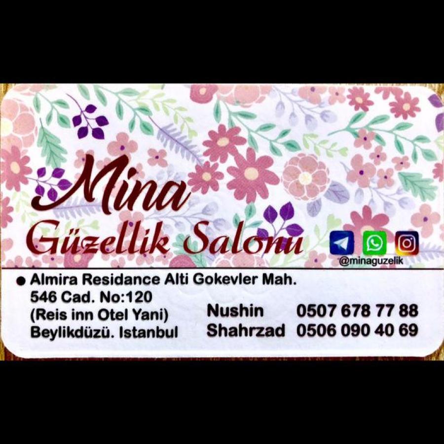 سالن آرایش مینا در بیلیکدوزو استانبول