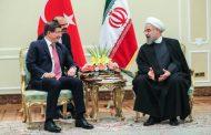دیدار نخست وزیر ترکیه با حسن روحانی