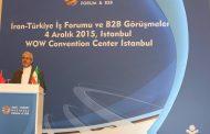 یادداشت های اقای سفیر ;همایش تجاری بازرگانان ایران و ترکیه در استانبول برگزار شد