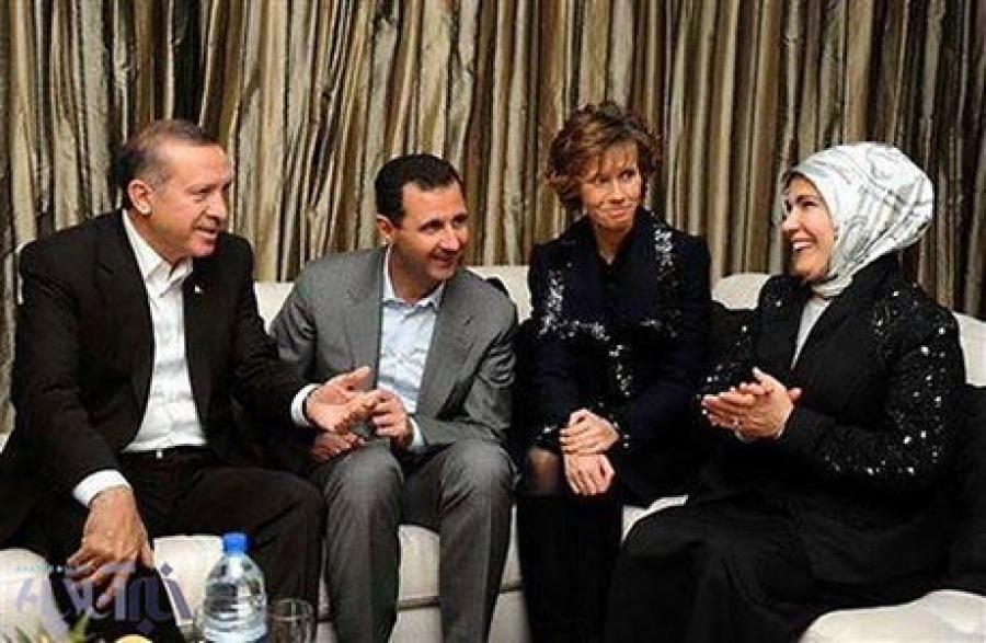 عکس/ روزهای خوش اسد و اردوغان