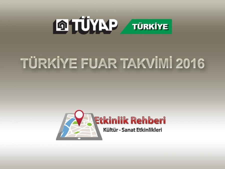 فهرست فارسی نمایشگاههای ترکیه تا بهمن 95