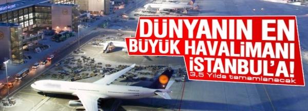 ویژگیهای بزرگترین فرودگاه جهان در استانبول