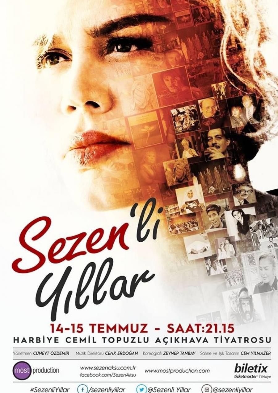 کنسرت بزرک SEZEN AKSU در استانبول