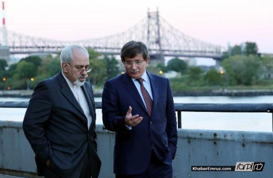 ظریف به آنکارا میرود، نخست وزیر ترکیه به ایران می آید