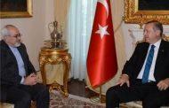 دعوت اردوغان از روحانی برای سفر به ترکیه در دیدار با ظریف
