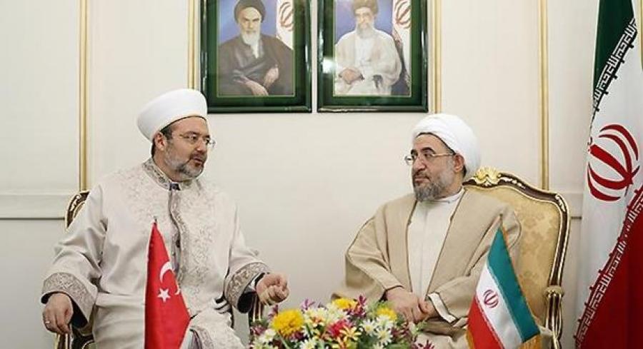 رئیس امور دینی ترکیه در ایران