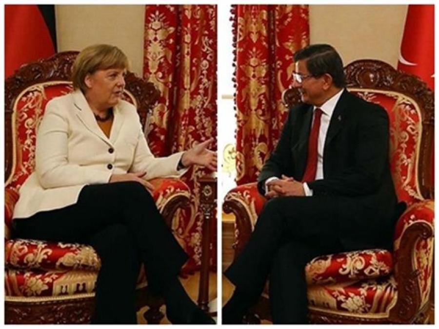 صدر اعظم آلمان برای انجام یک دیدار رسمی در ترکیه به سر می برد آنجلا مرکل، صدراعظم آلمان برای انجام دیداری یک روزه از ترکیه، در استانبول به سر میبرد. وی نخست در کاخ دولماباغچه با احمد داوود اوغلو نخست وزیر ترکیه دیدار و گفتگو کرد. قرار است تا مرکل