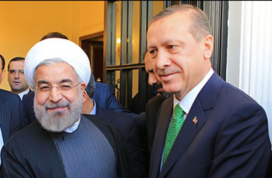 پیام تبریک روحانی به اردوغان