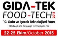 نمایشگاه مواد غذایی و آشامیدنی FOOD TECH در استانبول