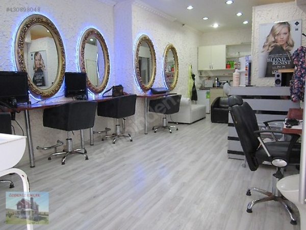 فروش سرقفلی آرایشگاه در منطقه باهچلی اولر استانبول ۲۳ هزار لیر
