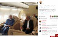 سرگرمی رئیس جمهور در هواپیما مسیر استانبول