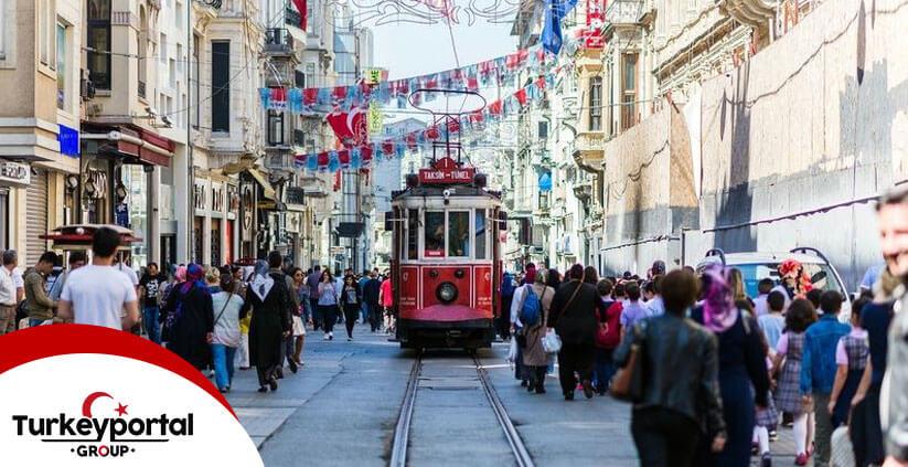 خرید در خیابان استقلال استانبول
