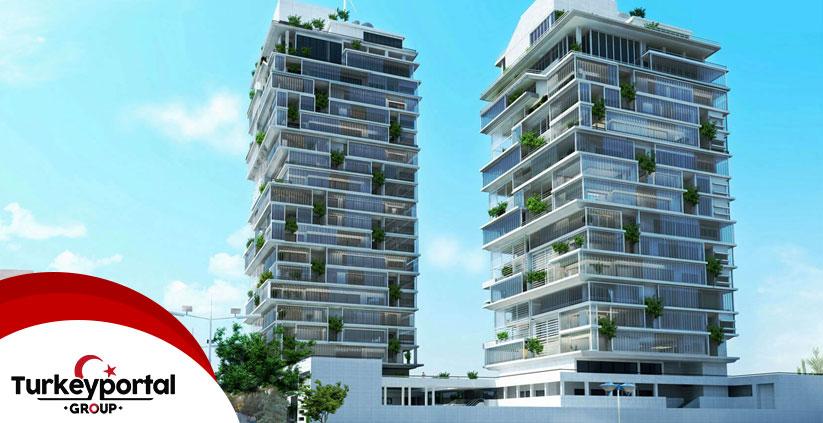 ساختمان سبز در ترکیه