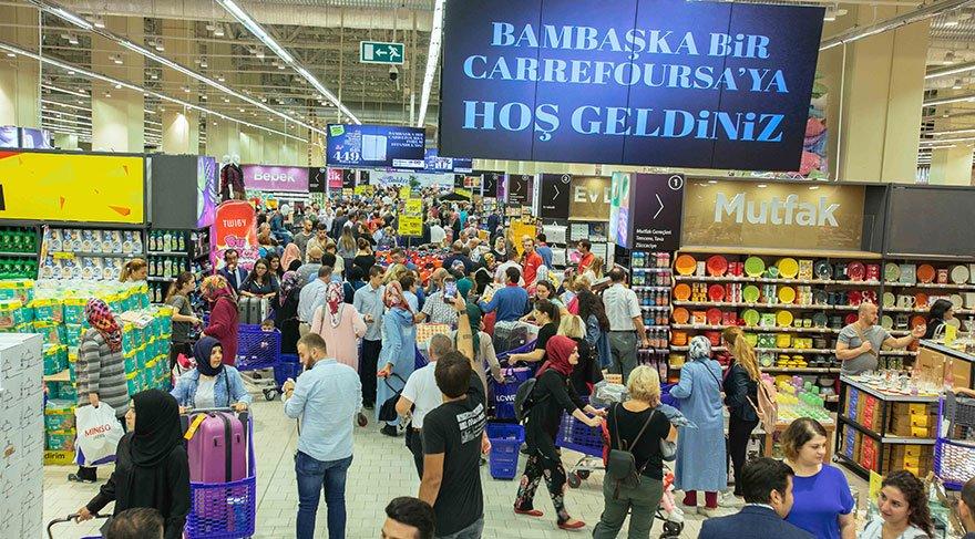 فروشگاه کارفور در ترکیه
