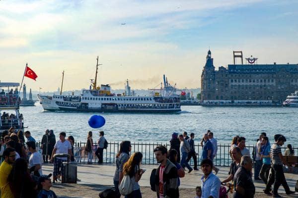 معرفی اسکله های استانبول + ویدیوی تصویری