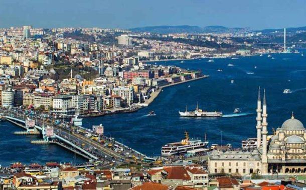 بالای شهر و پایین شهر استانبول