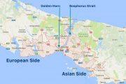 تفاوت های مناطق اروپایی و آسیایی استانبول
