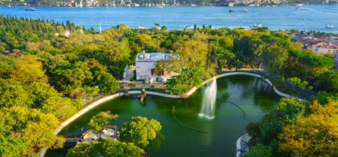 پارک های استانبول پارک ییلدیز