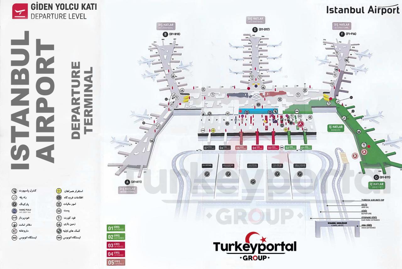 نقشه فرودگاه جدید