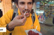لبو خوردن توریست ترک در تهران