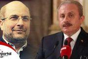 گفتگوی تلفنی روسای مجلس ایران وترکیه