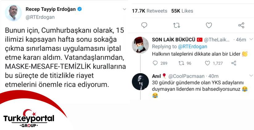 منع مقررات آمد و شد آخر هفته در ترکیه