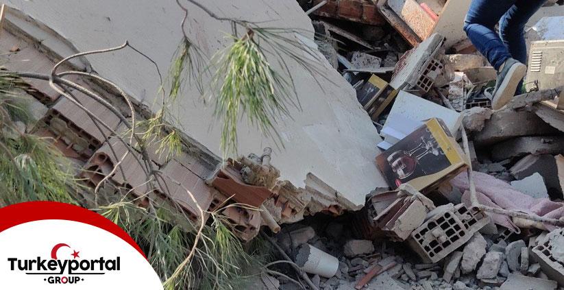 خرابی زلزله