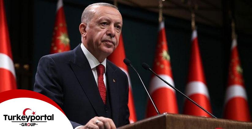 پیام اردوغان بعد از زمین لرزه ازمیر